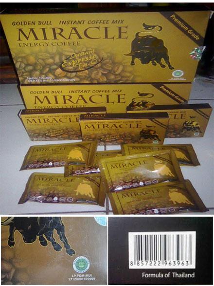 Kopi Miracle Bandung, Kopi Miracle, Distributor Kopi Miracle