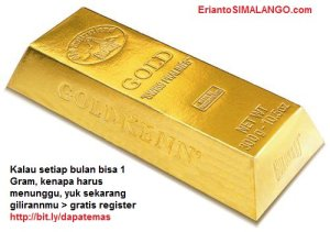 beternak emas, investasi emas, berkebun emas