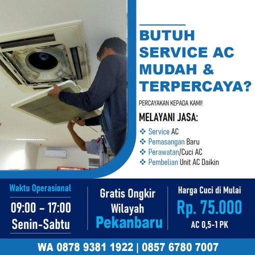 Service AC Pekanbaru Marpoyan