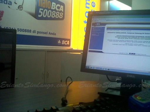 internet banking bca diblokir