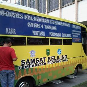 jadwal samsat keliling di pekanbaru