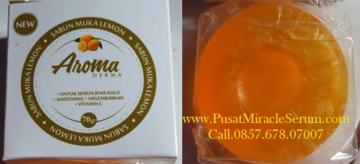 Aroma Derma Sabun Muka Lemon