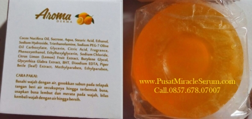 Jual Sabun Muka Lemon Aroma Dermo