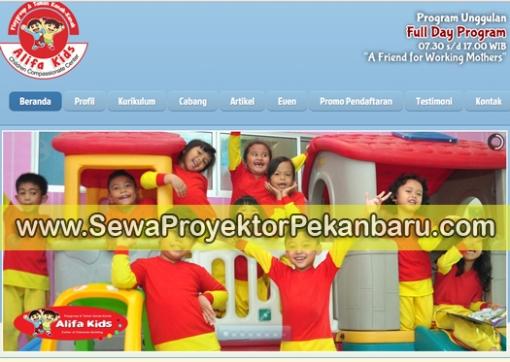 Jasa Sewa Proyektor di Pekanbaru