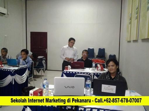sekolah internet marketing dan bisnis online di pekanbaru