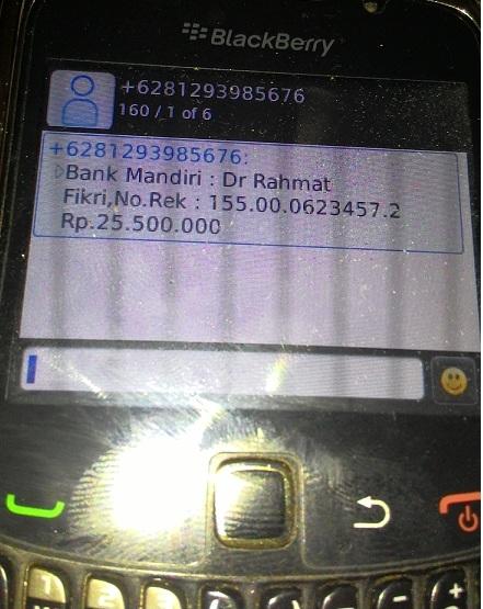 penipuan anak jatuh kecelakaan sakit di sekolah dasar pekanbaru