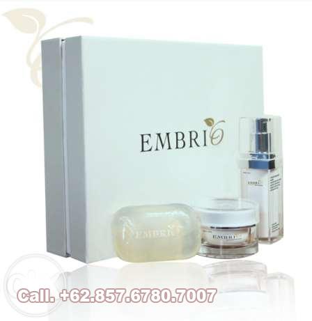 Jual Embrio skin care serum whitening dan sabun transparan embrio