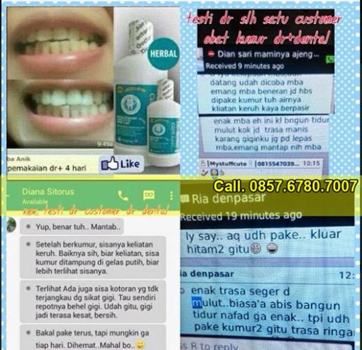 testimoni Dr Dental Care Liquid Review Harga Surabaya