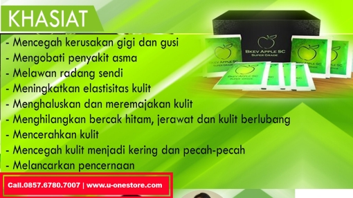 Khasiat BKEV Apple Stemcell Super Grade