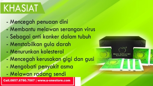 Manfaat BKEV Apple Stemcell Super Grade