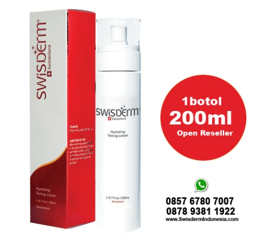 harga produk swisderm hydrating toning lotion indonesia