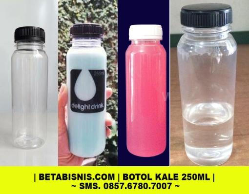 Jual botol plastik kale 250ml Pekanbaru