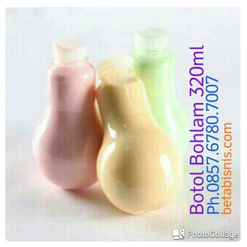 jual botol bohlam plastik Pekanbaru