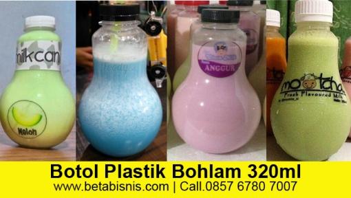 harga grosir botol bohlam plastik di Pekanbaru