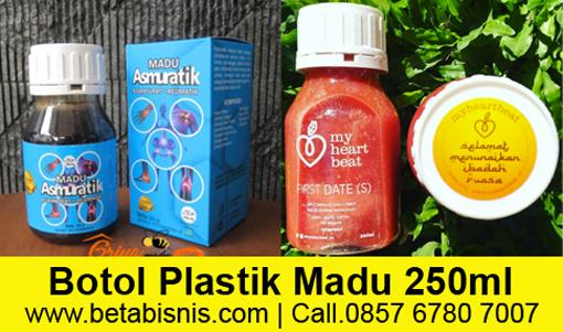 Jual Botol Plastik untuk Kemasan Habbatussauda Madu Sari Kurma di Pekanbaru