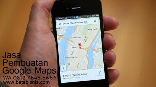 Jasa Mendaftarkan Google Maps untuk Bisnis