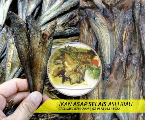 Ikan asap selais khas provinsi Riau
