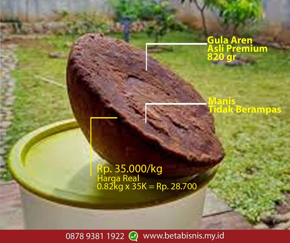Harg gula aren batok pekanbaru